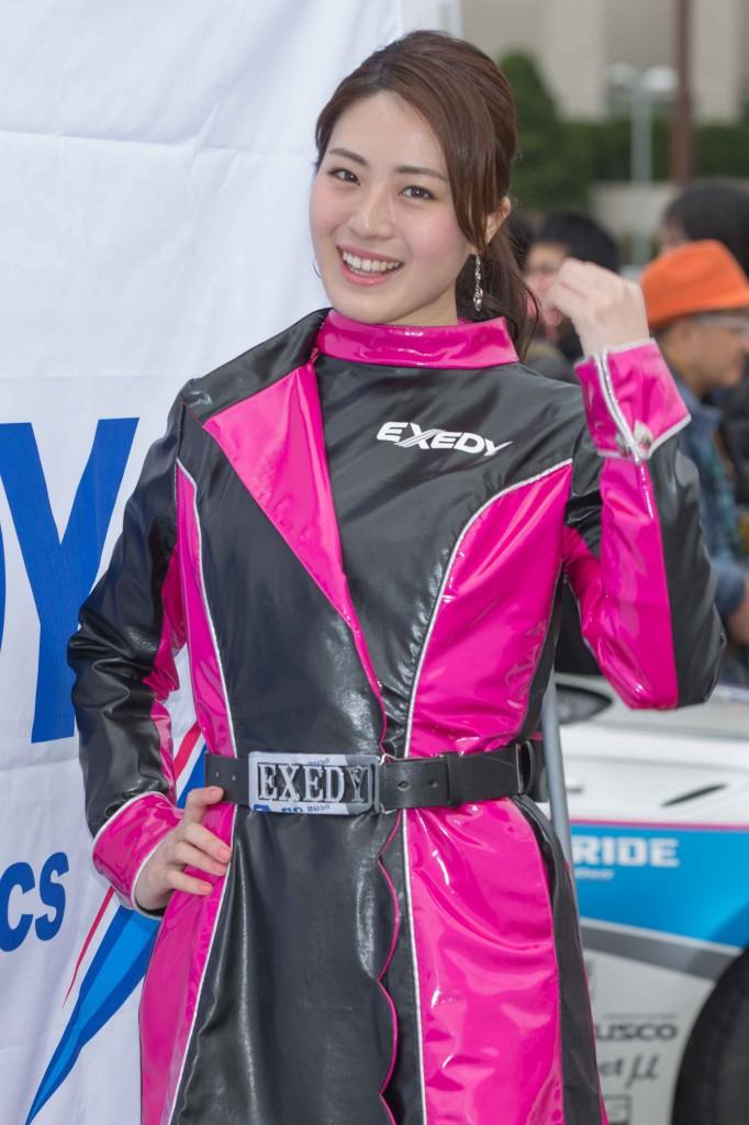 EXEDY Racing girl 朝倉恵理子